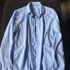 Large shaped fit Bugatchi button down